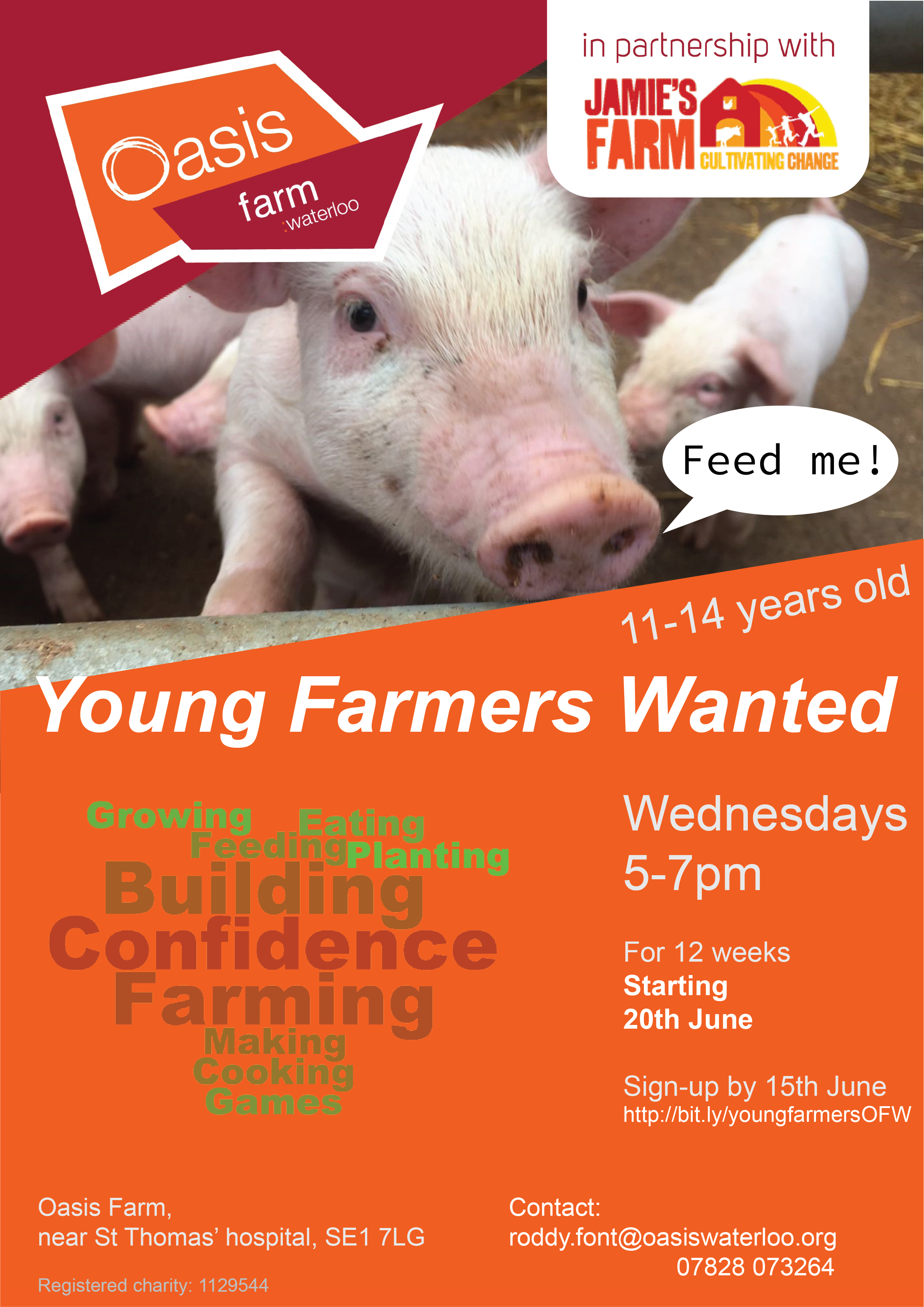 Young Farmers flyer